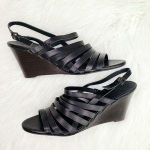 J. CREW NWOT Merkato Strappy Leather Wedge Sandals
